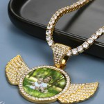 custom made personalized bespoke photo necklace for women men