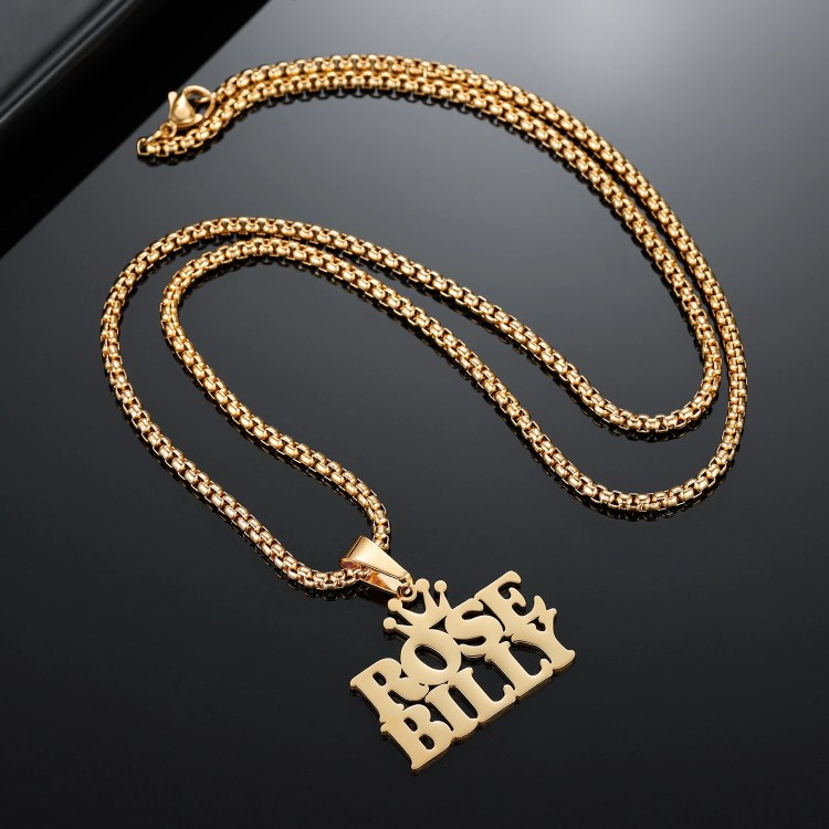 Bespoke Name Necklace With Queen's Crown Multiple Custom Names Necklace For Women Shine Nameplate Necklace For Mature Women