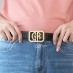 men belt buckle design with personalization and customization options