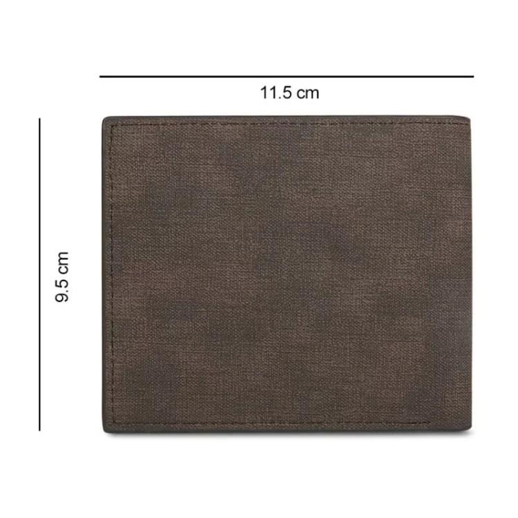dimensions of standard men wallet