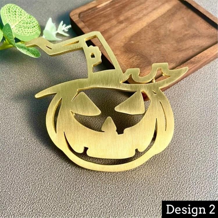 Halloween Custom Decorative Letter Waist Belt Buckle Design Personalized English Initial Waist Belt Ghost Dace Halloween Pumpkin Belt Buckle