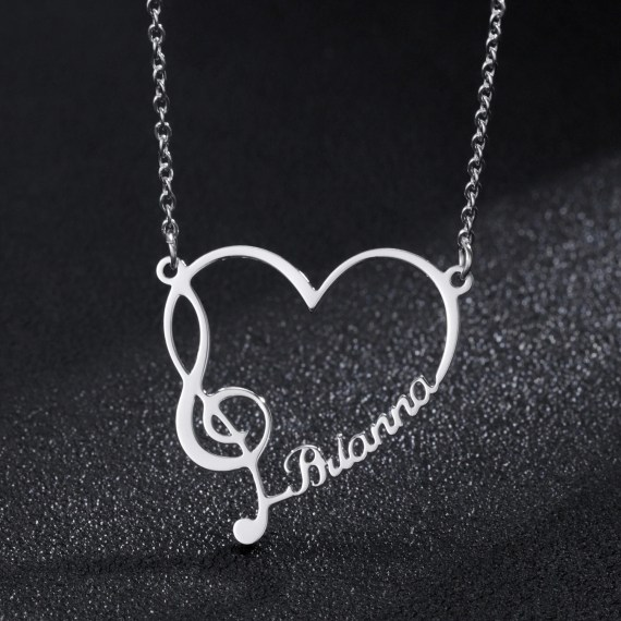 High Quality Stainless Steel Jewelry For Women Personalized Custom Jewelry Products From Beceff Name Necklace For Teenage Girls Girl Casual Jewelry Lovers Simple Necklace For Women
