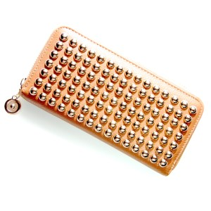 Golden studs wallet