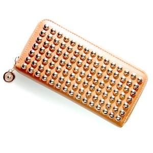 Golden studs wallet