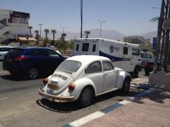 Fahrzeug-Pretiose in Eilat
