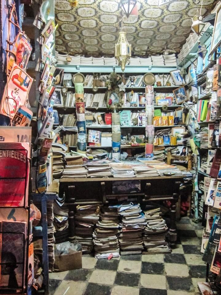 Buchladen in Chefchaouen