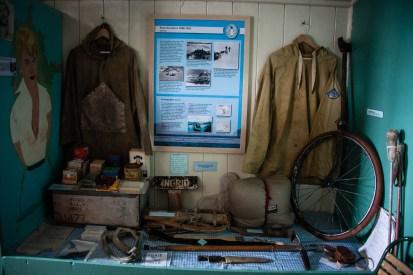Port Lockroy-Museum: Ausrüstung