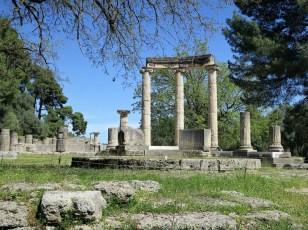 Teilansicht am Zeus-Tempel
