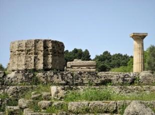 Überreste Zeus-Tempel