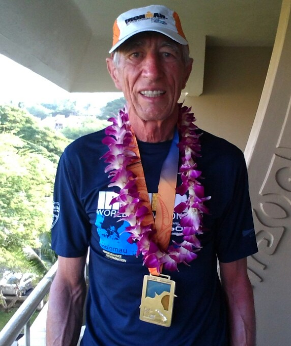 Ironman Hawaii-Finisher Jürgen Strott