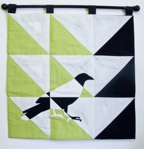 My quilt for the Project Patchwork Ikea Challenge