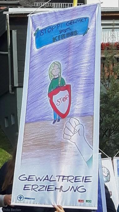 Ein Plakat zu den Kinderrechten