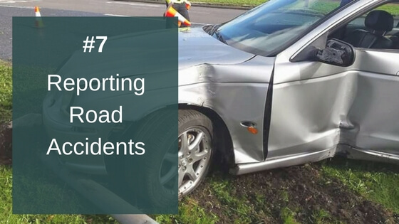 Reporting Road Accidents