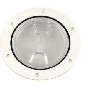 Beckson DP40-W-C access plate