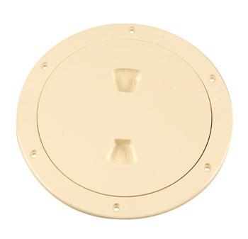 """Beckson 6"""" Beige access plate"""