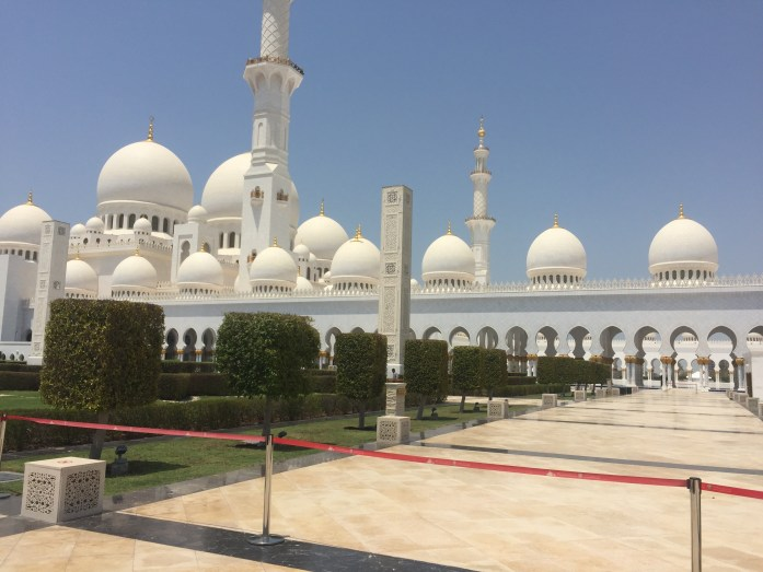 Travels of 2017: The Great Mosque in Abu Dhabi