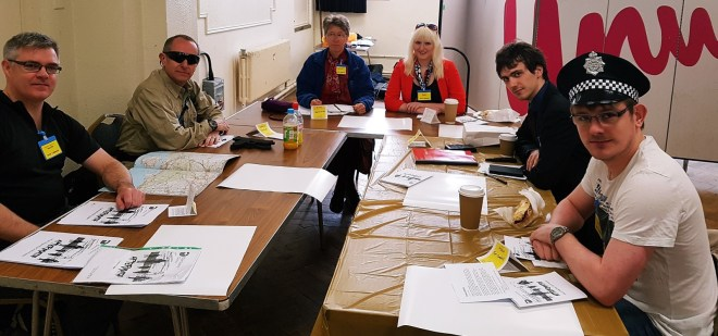 Gold Command at the Aftermath Megagame