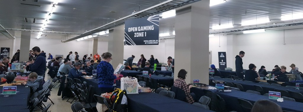 Open Gaming - AireCon 2019 by BeckyBecky Blogs