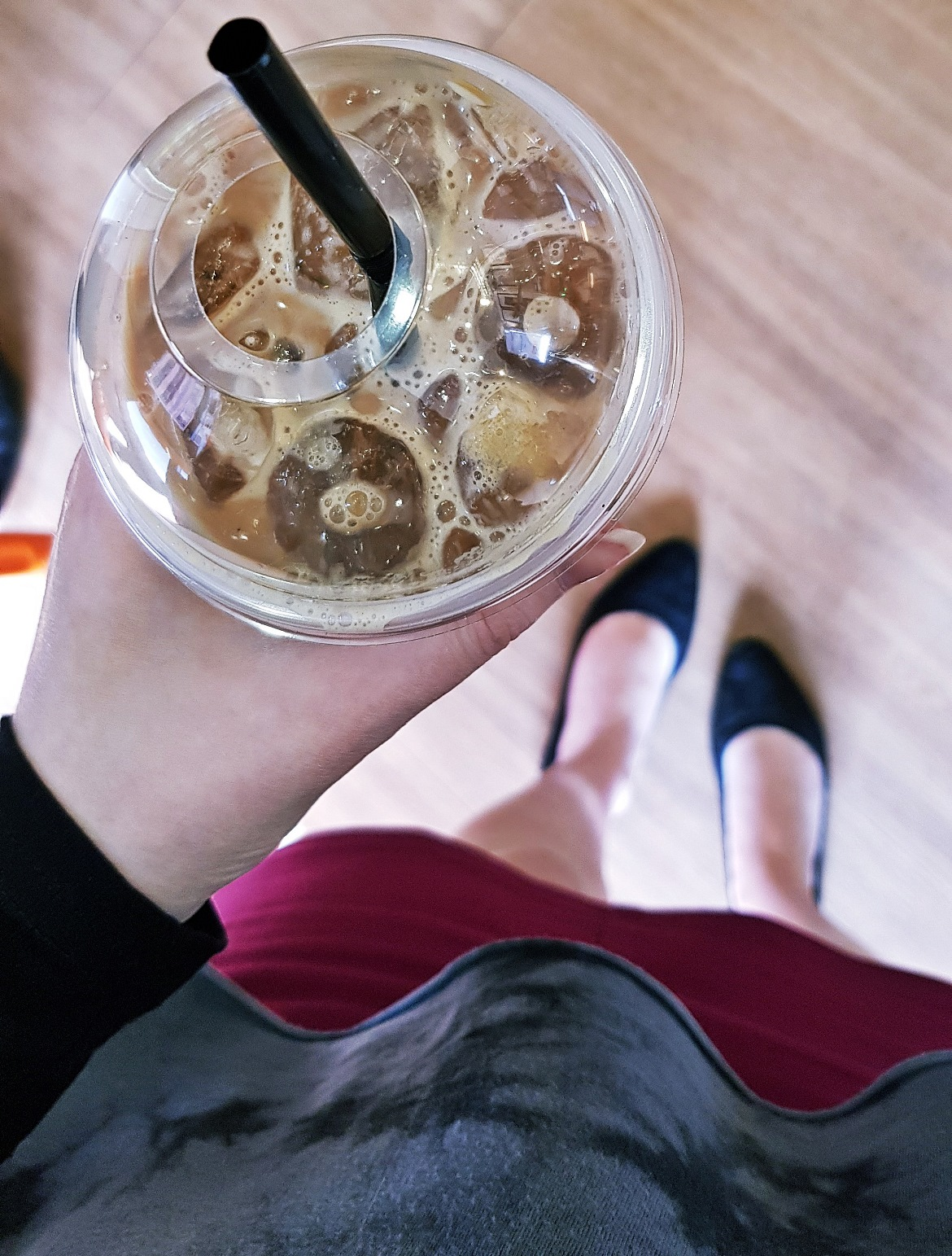 Iced latte - April 2018 Monthly Recap by BeckyBecky Blogs