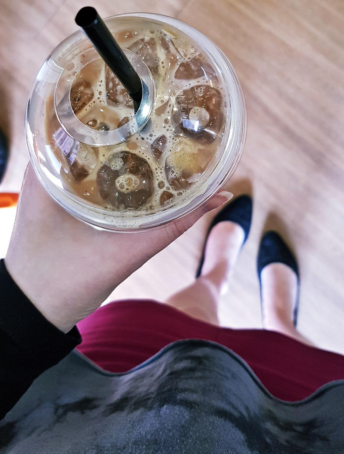 Iced latte - April 2018 Monthly Recap by BeckyBecky Blogs