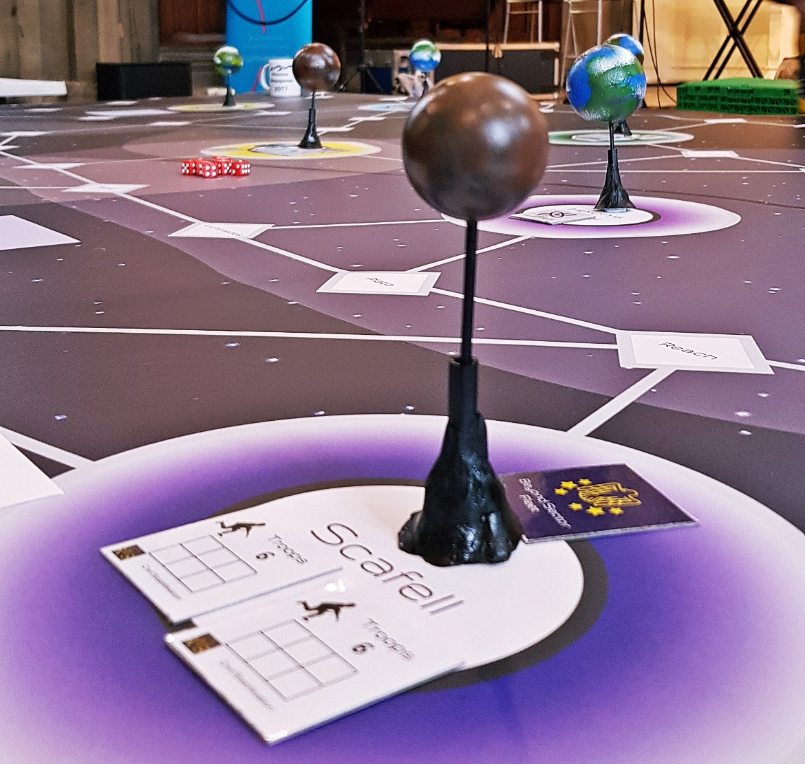 The game map at The Shot Heard Round The Universe - April 2018 Monthly Recap by BeckyBecky Blogs