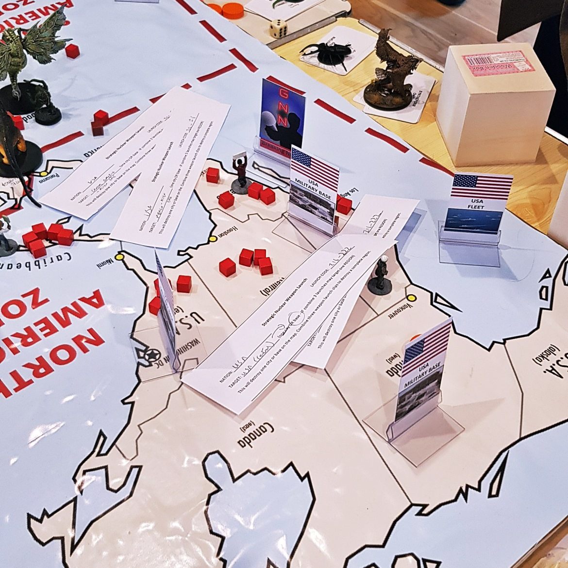 Strategic nukes on American soil - Arrival Megagame After Action Report by BeckyBecky Blogs