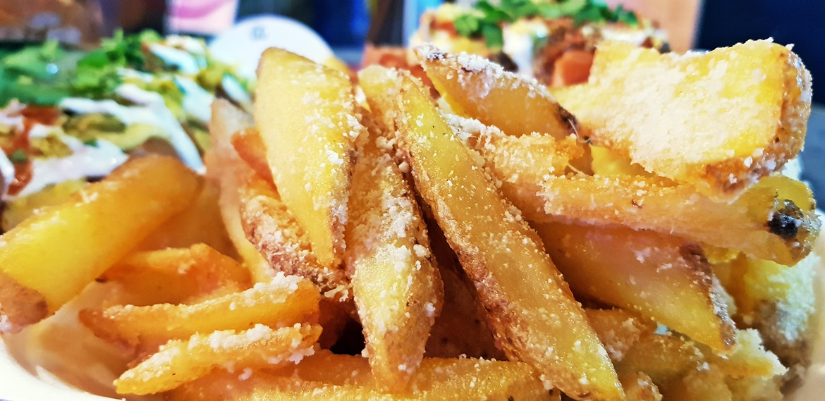Truffle fries at Luxury Diner - July and August 2018 Monthly Recap by BeckyBecky Blogs