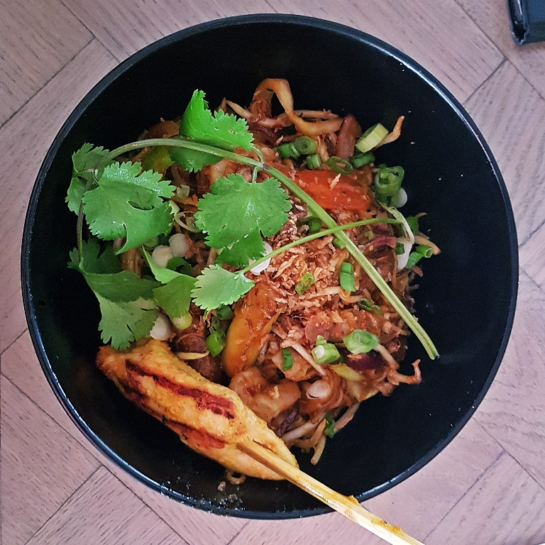 Singapore Street Noodles at Bar Soba in Leeds - Bottomless Lunch Review by BeckyBecky BlogsThe street view of Bar Soba in Leeds - Bottomless Lunch Review by BeckyBecky Blogs