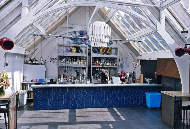 Upstairs at Bar Soba in Leeds - Bottomless Lunch Review by BeckyBecky Blogs