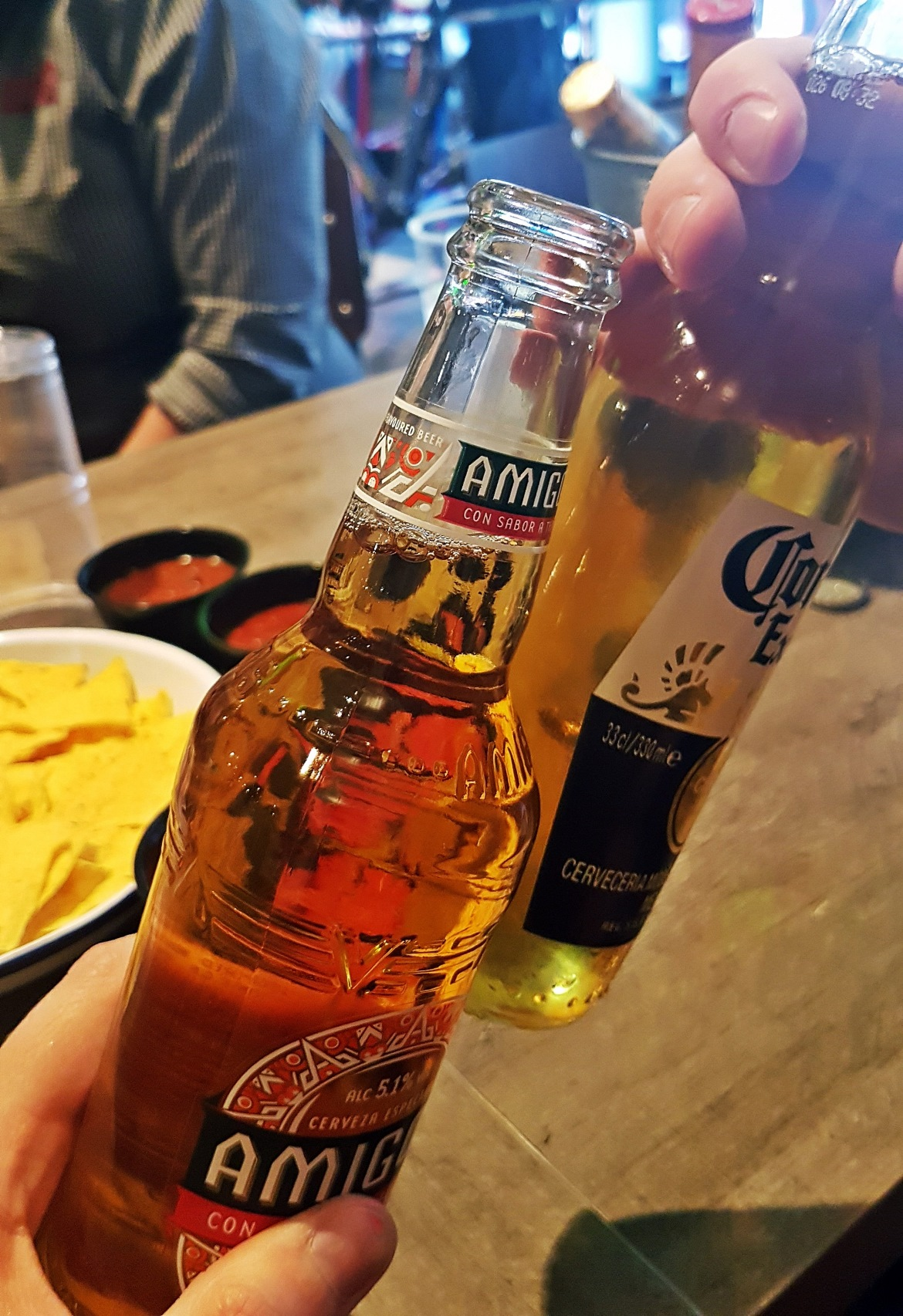 Beer cheers - Burrito Masterclass with Barburrito, review by BeckyBecky Blogs