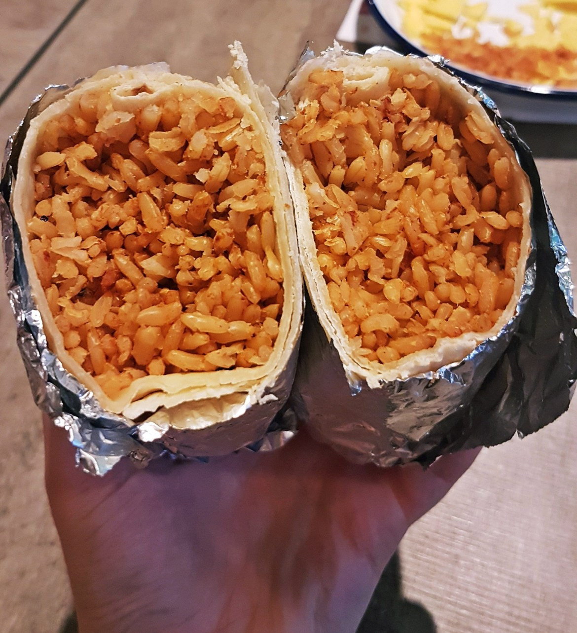 Perfectly wrapped, first try - Burrito Masterclass with Barburrito, review by BeckyBecky Blogs