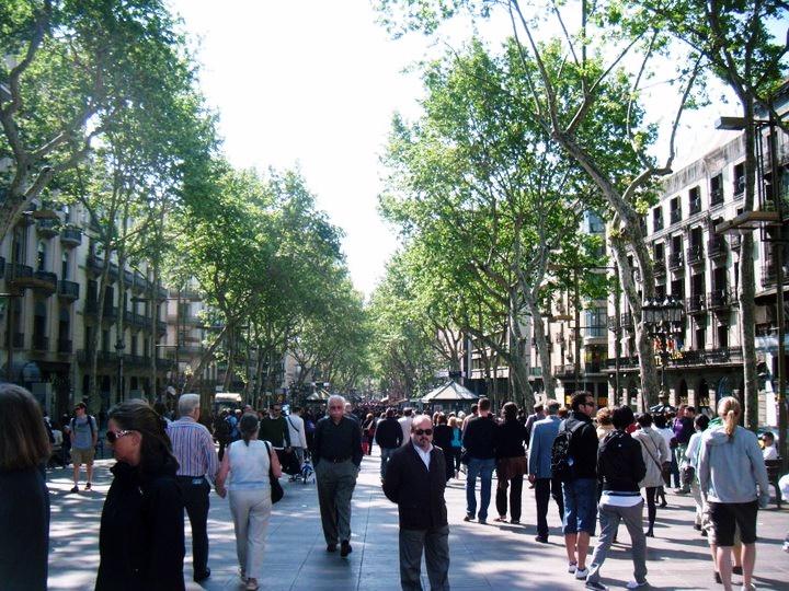 La Rambla - Reminiscing about Barcelona by BeckyBecky Blogs