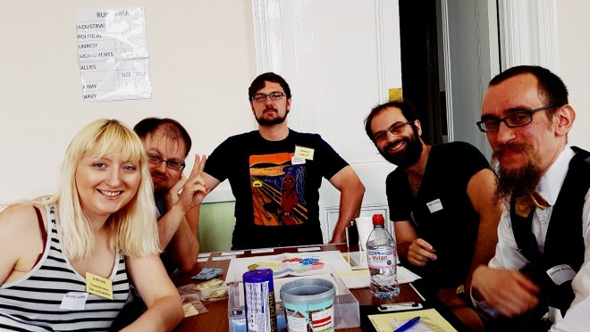 Team Ruritania - Barricades and Borders After Action Report by BeckyBecky Blogs