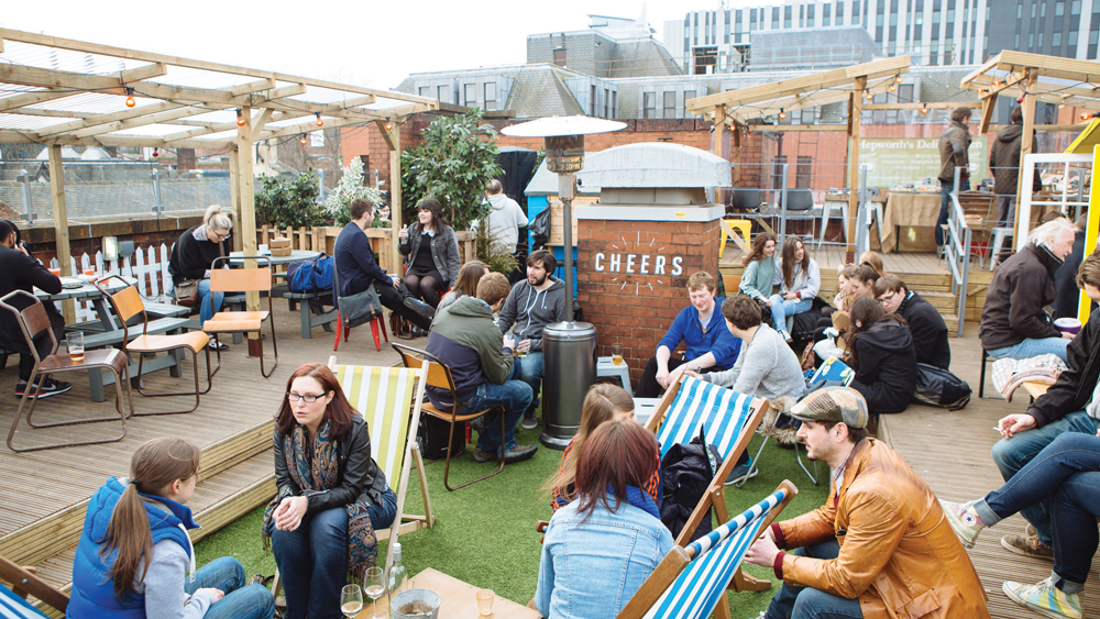 Belgrave Music Hall Roof Terrace