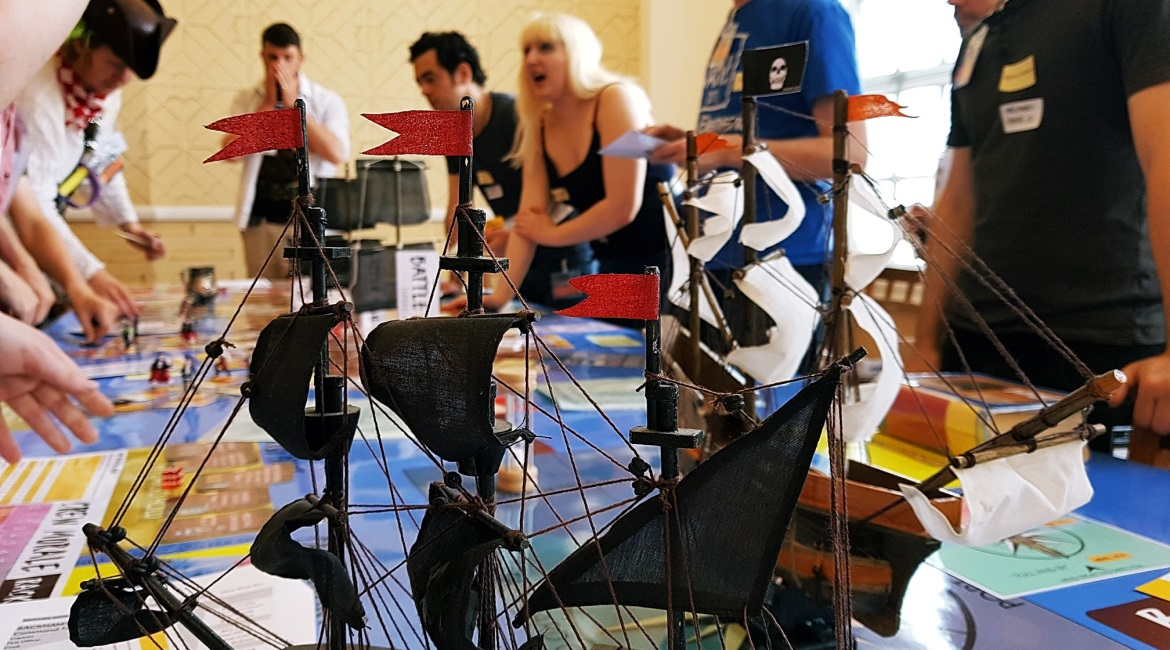 Blood and Thunder Megagame After Action Report by BeckyBecky Blogs