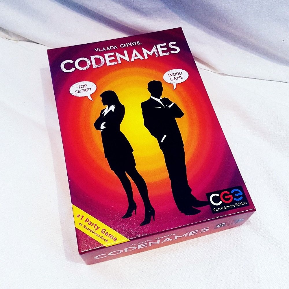 Codenames tabletop card game