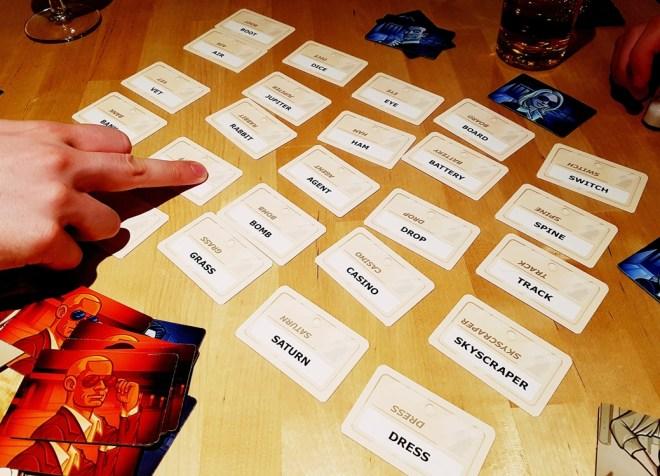 Codenames tabletop card game
