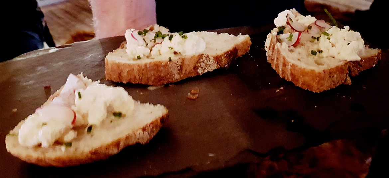 Whipped bone marrow on sour dough at Hidden Harewood - December Monthly Recap by BeckyBecky Blogs