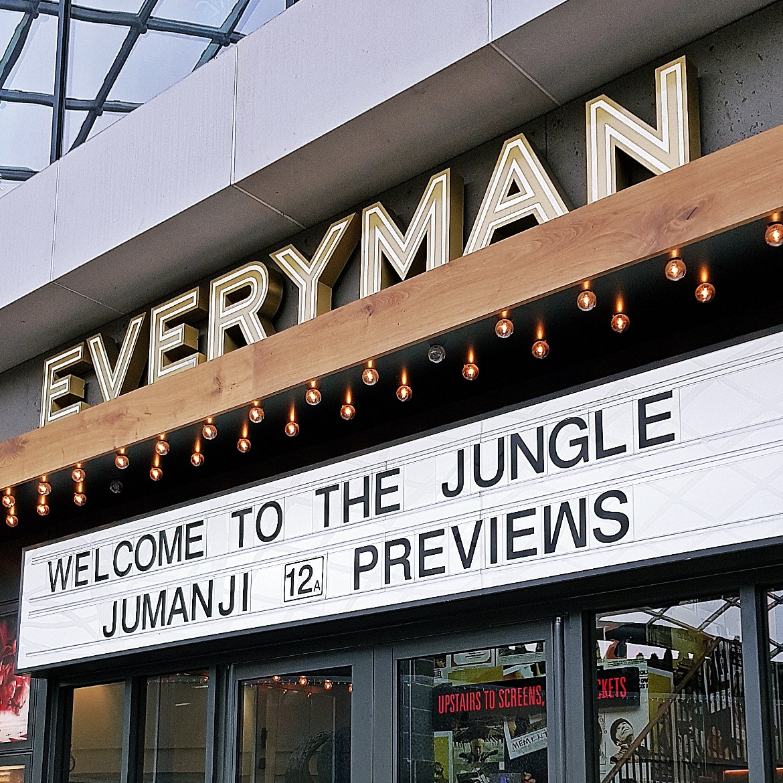 Going to see Jumanji - December Monthly Recap by BeckyBecky Blogs