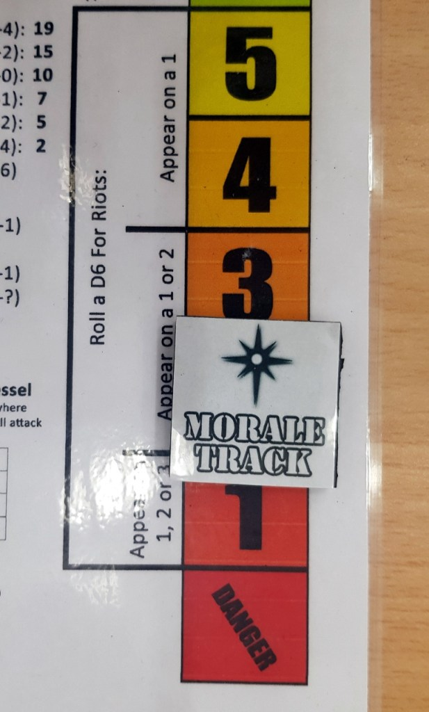 Dione morale - Den of Wolves megagame after action report by BeckyBecky Blogs