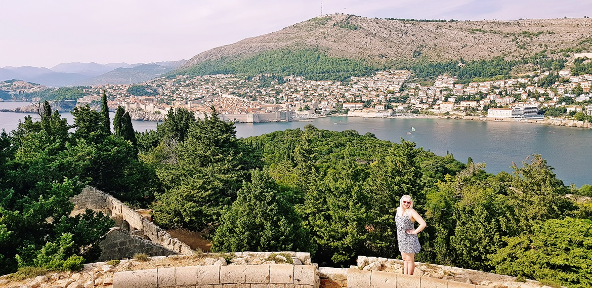 View of Dubrovnik from Lokrum - Croatia in Photographs by BeckyBecky Blogs