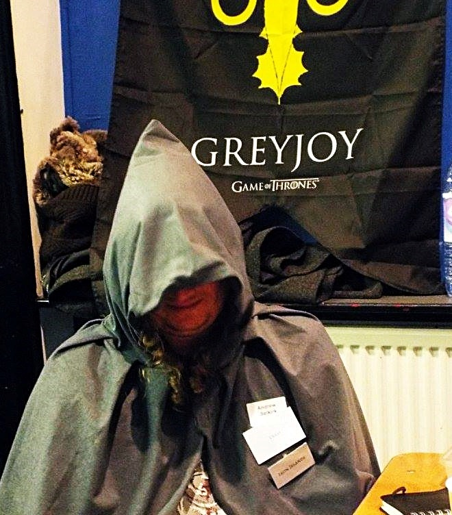 Drowned Priest at the Everybody Dies Megagame by BeckyBecky Blogs