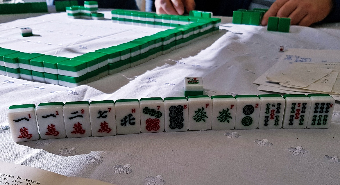 Playing Mahjong - February 2018 Monthly Recap by BeckyBecky Blogs