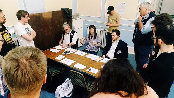 The German Diet at Foxes and Devils megagame - After Action Report by BeckyBecky Blogs