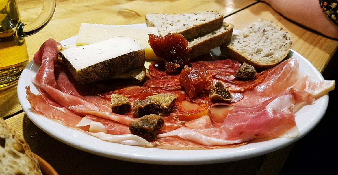 Friends of Ham Spanish Board for restaurant review