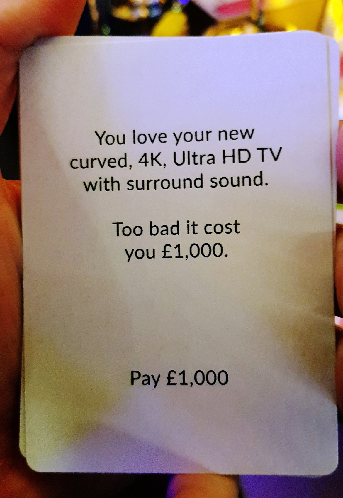TV buying - giffgaff gameplan's Spend or Save boardgame by BeckyBecky Blogs