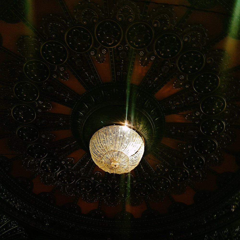 Chandelier at The Grand Theatre Leeds