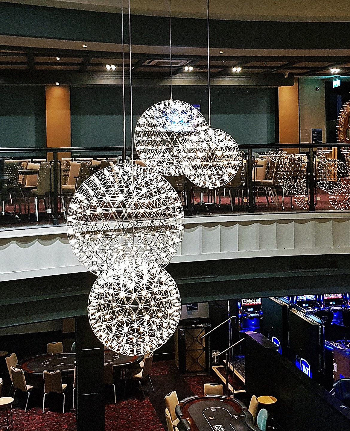 View over the casino floor - Grosvenor Casino Leeds review by BeckyBecky Blogs