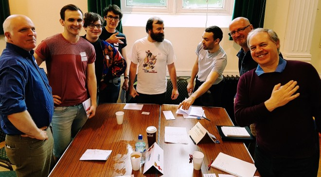 Guelphs and Ghibellines megagame Milan team