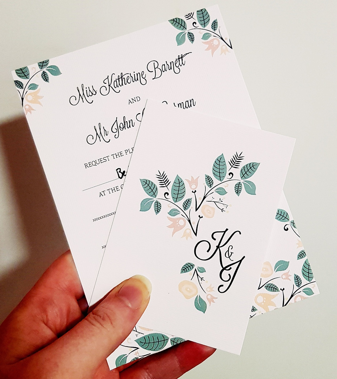 Wedding invite - January 2018 Monthly Recap by BeckyBecky Blogs